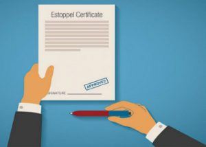 estoppel-certificate